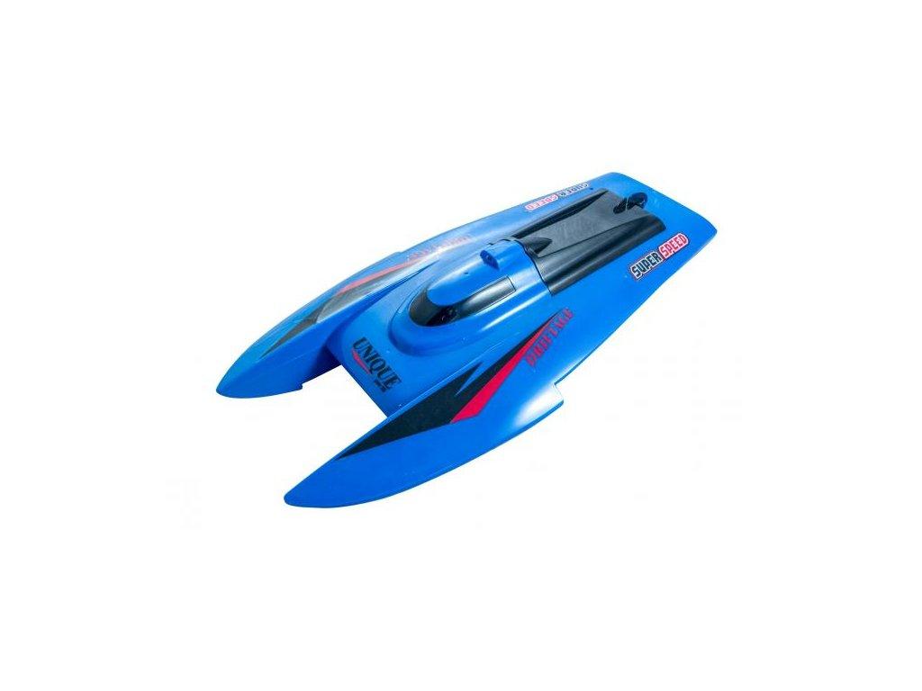 RC loď CATA RAZER Speed Boat RTR 2,4GHz LED modrá