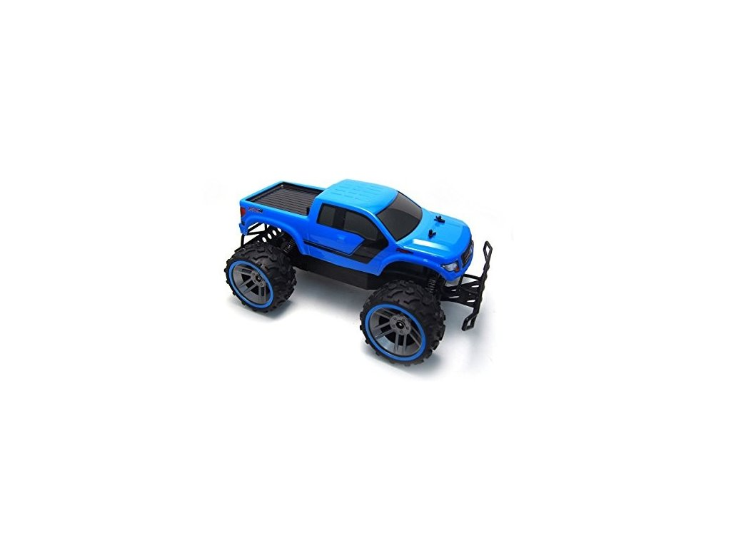 RC auto Ford F150 monster truck 1:12 modré