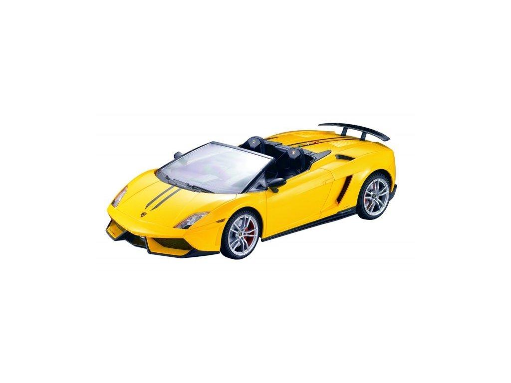 RC auto Lamborghini Gallardo LP 570-4 Spyder Performant 1:14 žlté