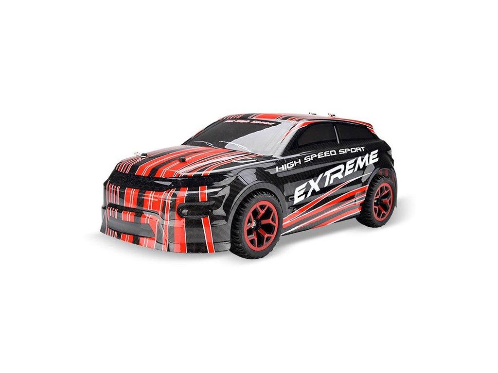 RC auto X-Knight WRC 1:18 RTR 4WD ČERVENÁ