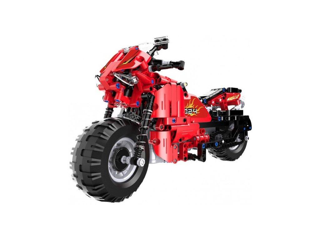 RC motorka - stavebnica - (484 dílků)