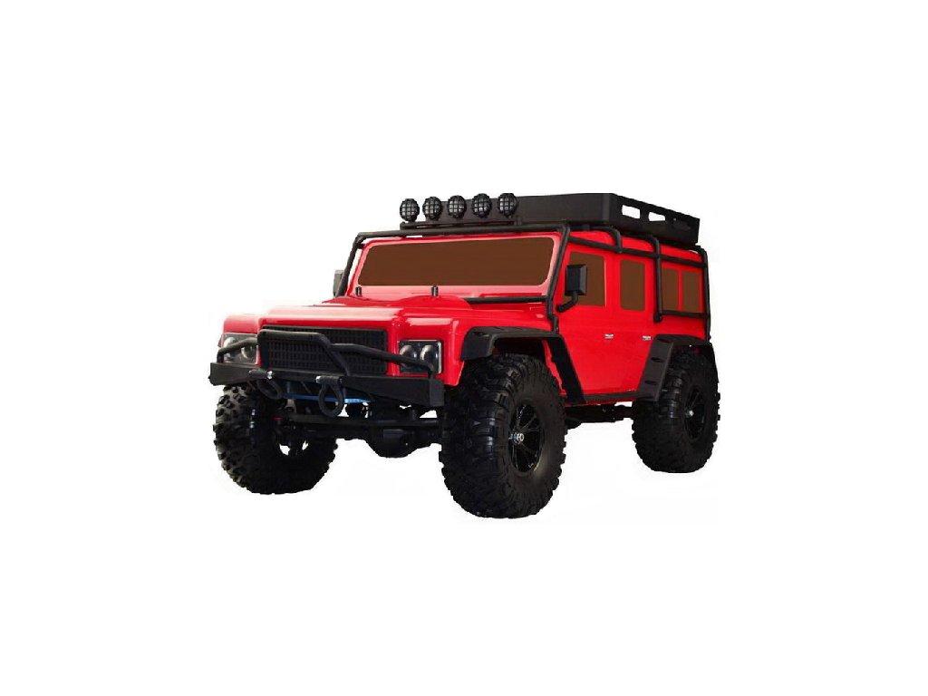 VRX Expedičný RC CRAWLER BF-4J - červený
