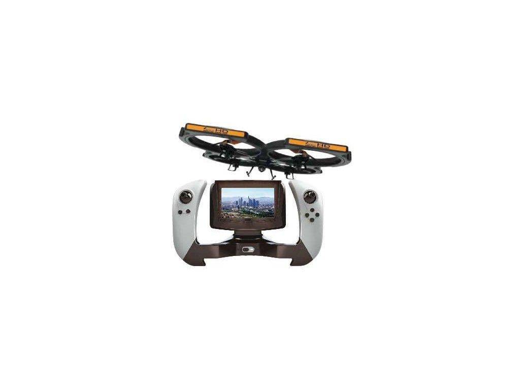 Kvadrokoptéra AMX 51 HD s FPV kamerou a displejom