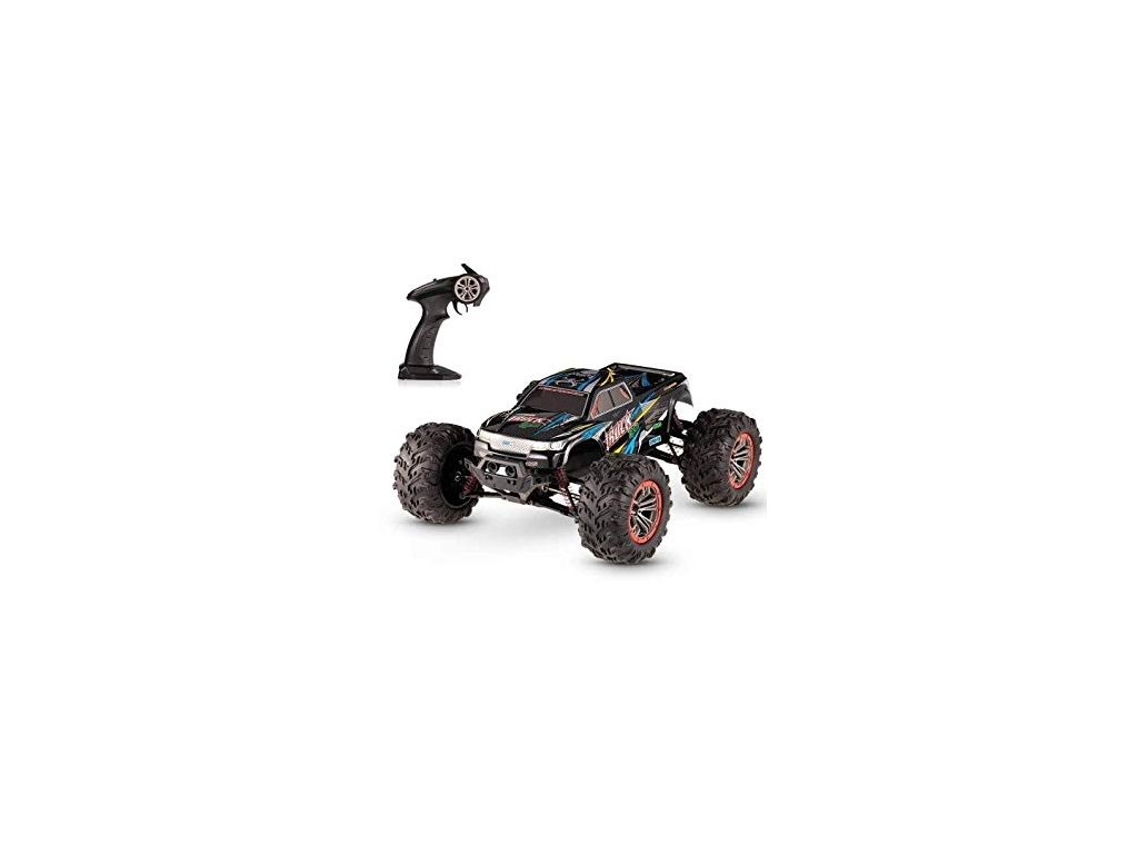 RC auto MonsterTruck 1:10, 2 motory, 46km/h, IPX4