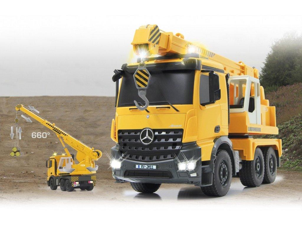 RC Autožeriav Liebherr Mercedes-Benz AROCS 2,4 Ghz