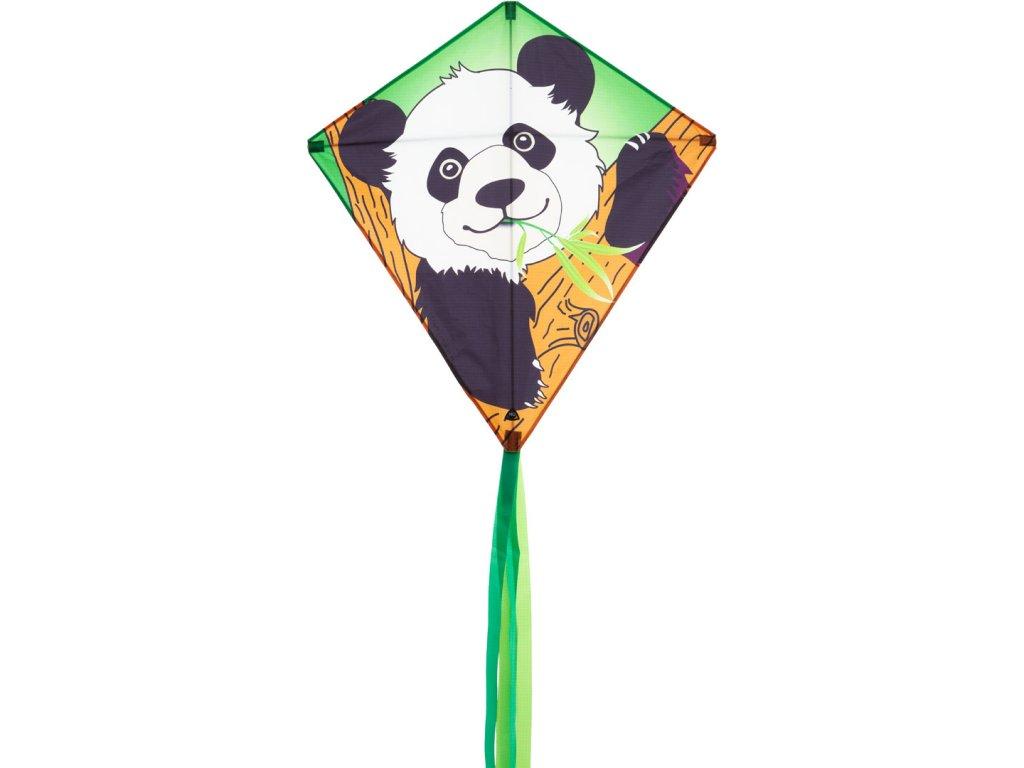 Šarkan Eddy Panda 68x68cm
