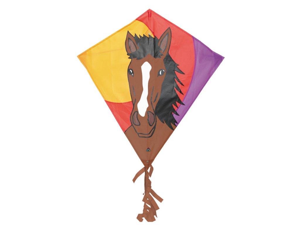 Lietajúci šarkan Eddy Bronco kôň 68x68cm