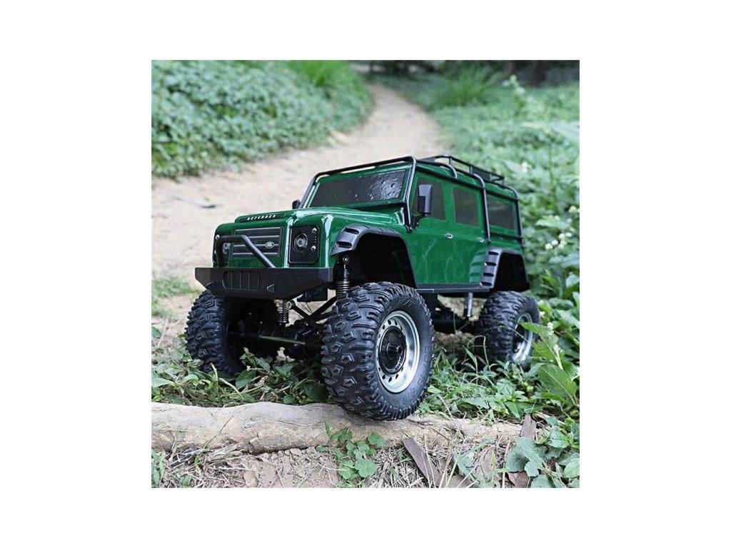 RC Land Rover Defender 1/8 - 50cm - zelený