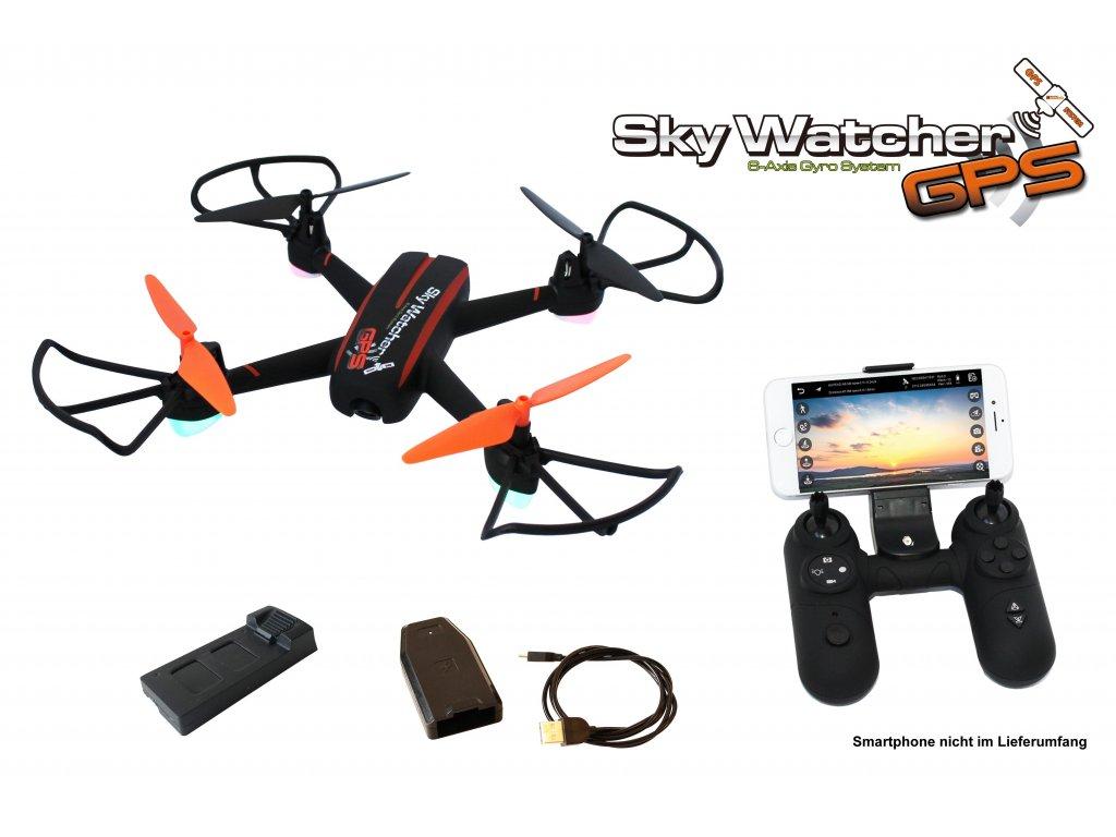 Dron SkyWatcher GPS FPV Follow ME