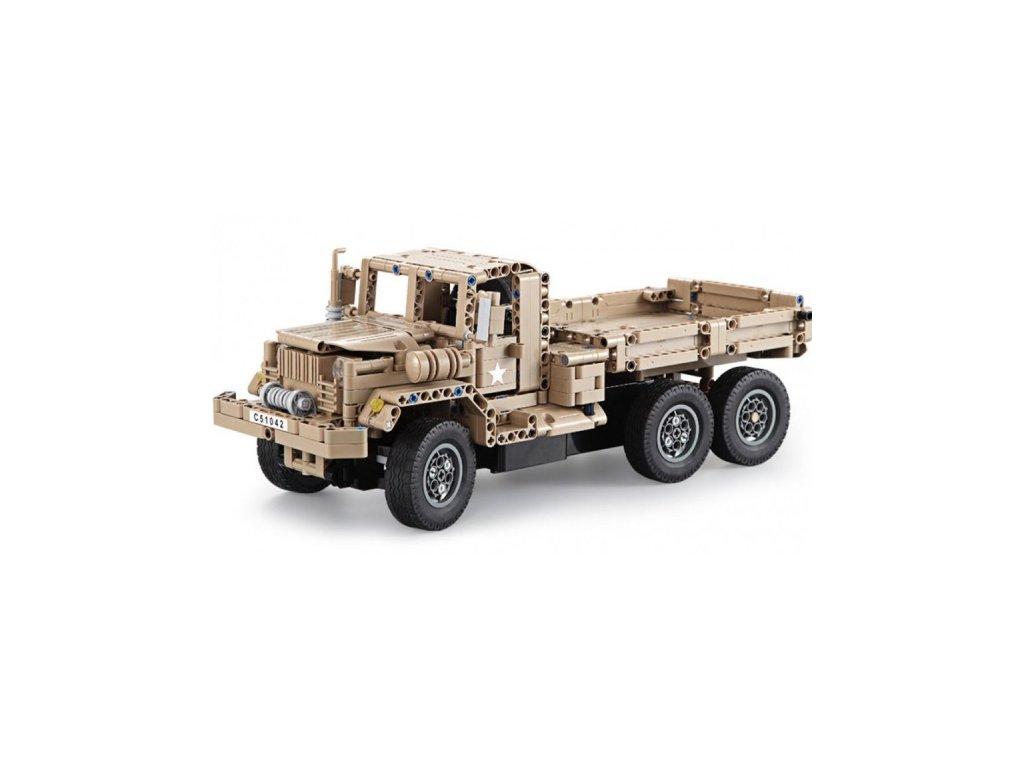 RC stavebnica Vojenské nákladné auto