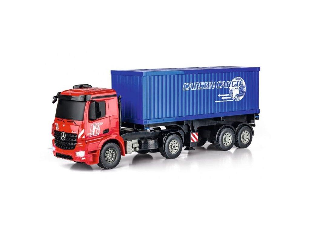 RC kamión Mercedes-Benz Arocs s kontejnerom 1:20 2.4GHz  2x AKU