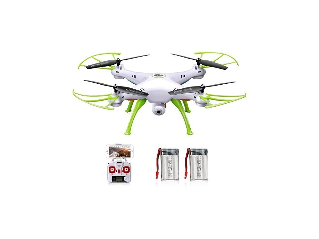 RC dron SYMA X5cHW PRO - 50 minút letu + barometer + WiFi kamera