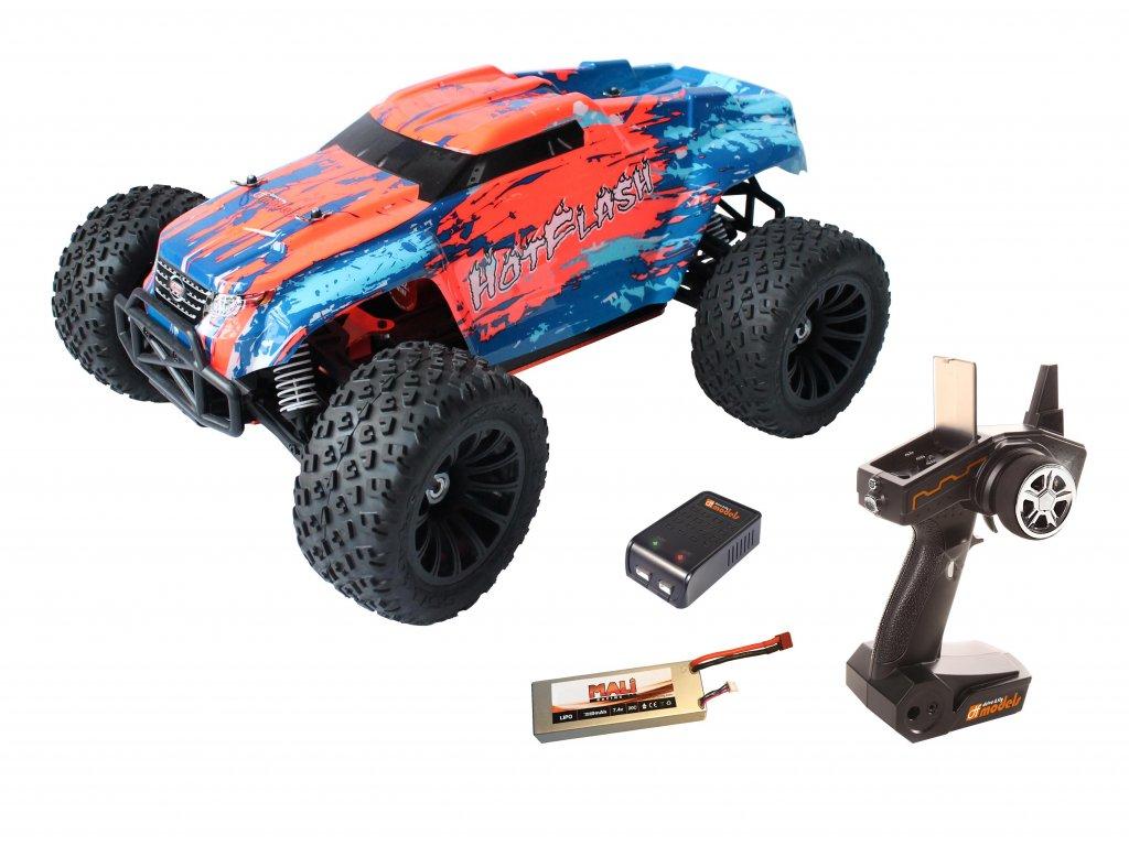 Rc auto HotFlash RTR 1:10 XL BRUSHLESS WATERPROOF