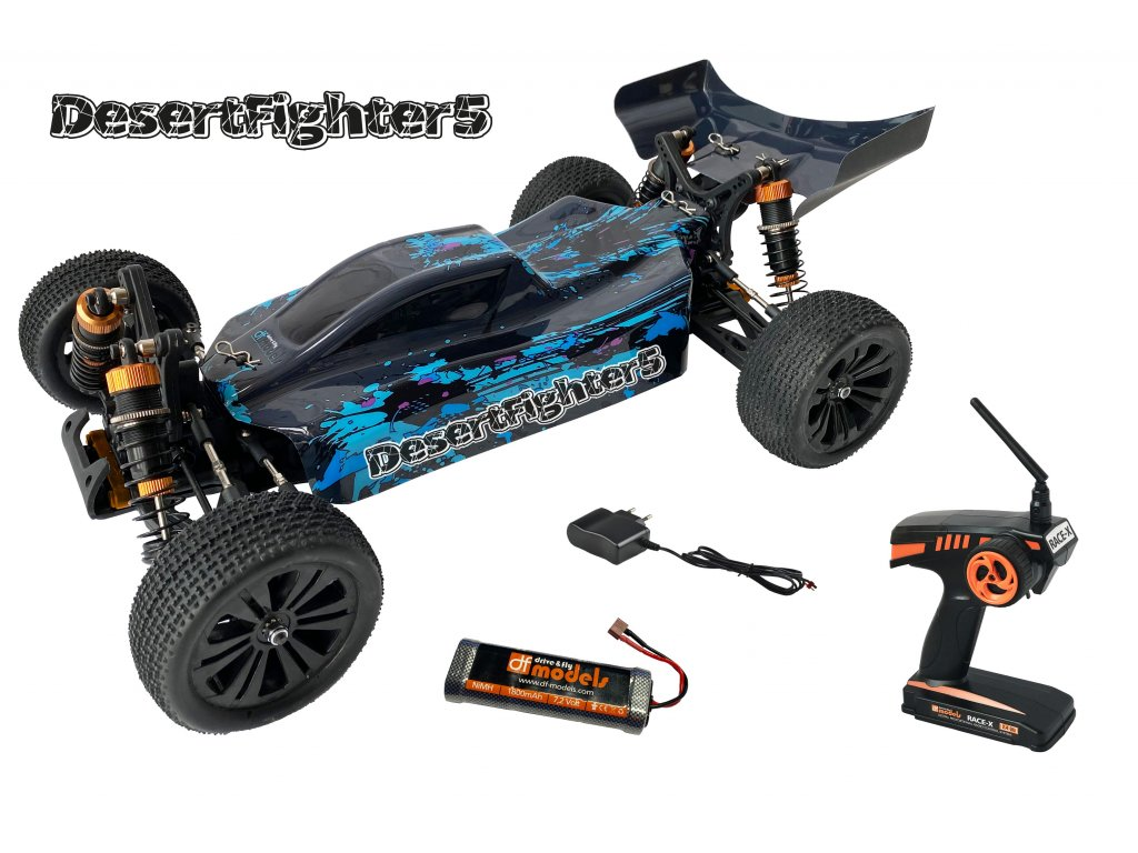RC Buggy DesertFighter 5 Brushed 1:10 RTR