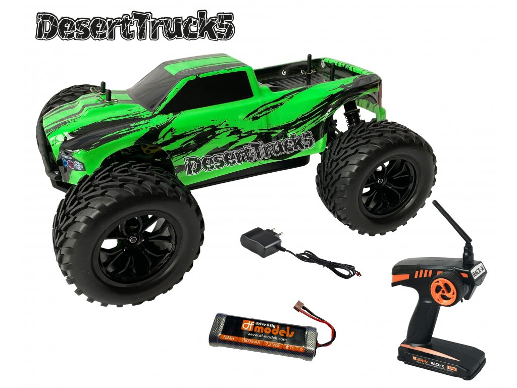 RC auto DesertTruck 5 Brushed Monster truck 1:10 RTR