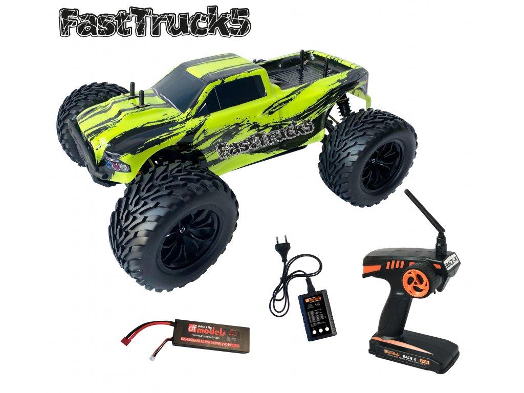 RC auto FastTruck 5 Brushless monster truck RTR