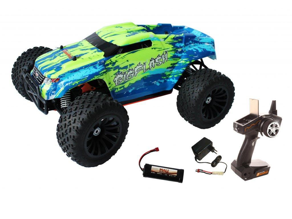 RC auto BigFlash RTR 1:10 XL DC WATERPROOF