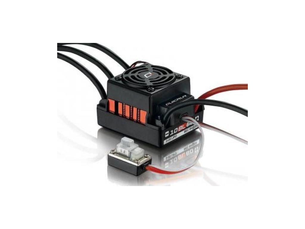 6150 striedavý regulátor - 10BL50 waterproof, LiPo 2-3S, BEC 6V/3A