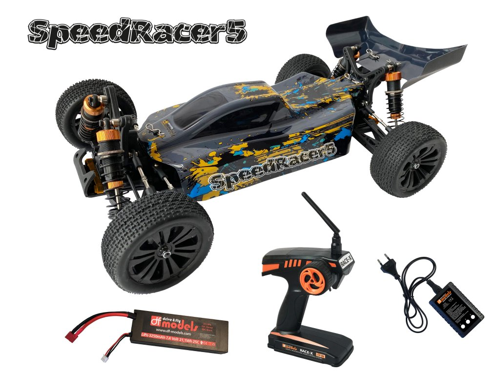 RC auto Buggy SpeedRacer 5 Brushless RTR