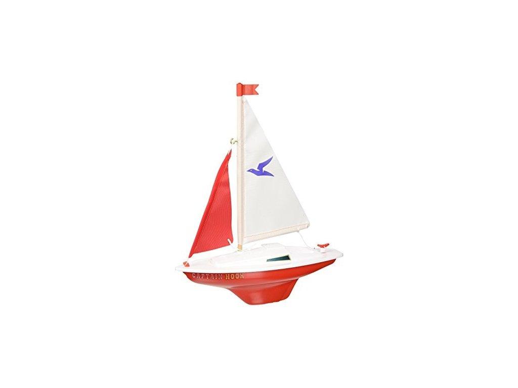 Model plachetnice pre deti CAPTAIN HOOK 24x31 cm