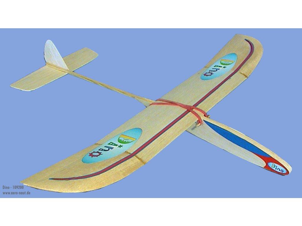DINO 610mm stavebnica hádzadla pre začiatočníkov od Aero-Naut