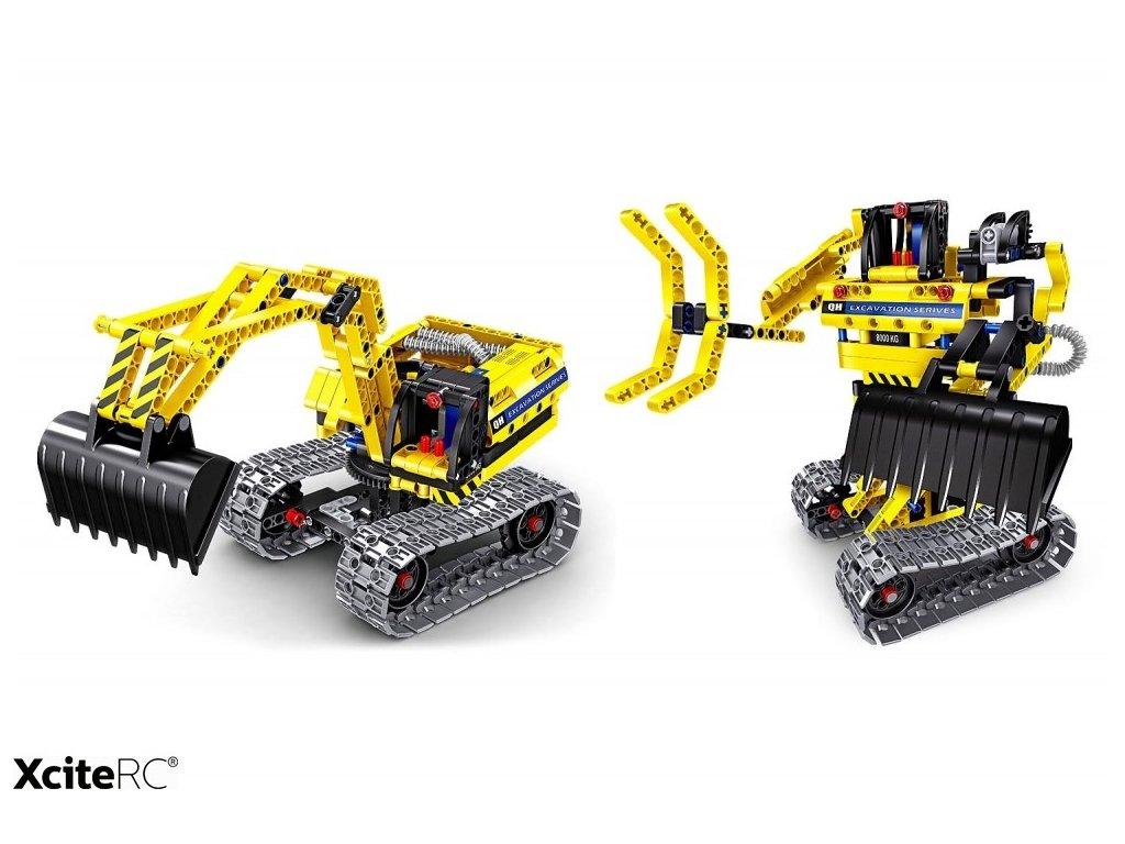 BAGR & ROBOT TEKNOTOYS ACTIVE BRICKS