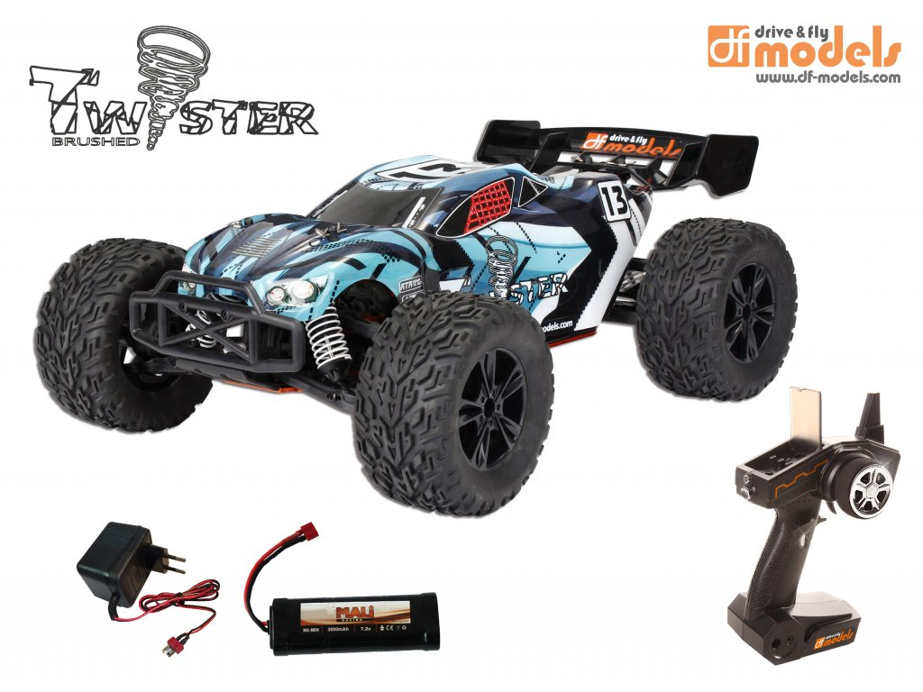 RC TWISTER Truggy 1:10XL RTR Brushed