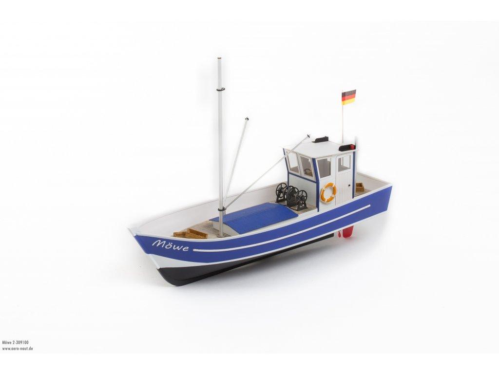 Stavebnica Rybárskej lode Möwe 2 od Aero-Naut
