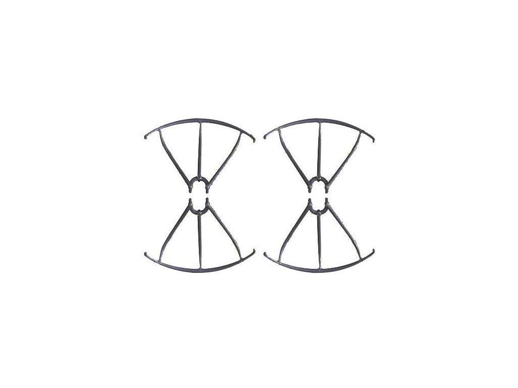 Kryty vrtúľ (čierne) X5SC-04B