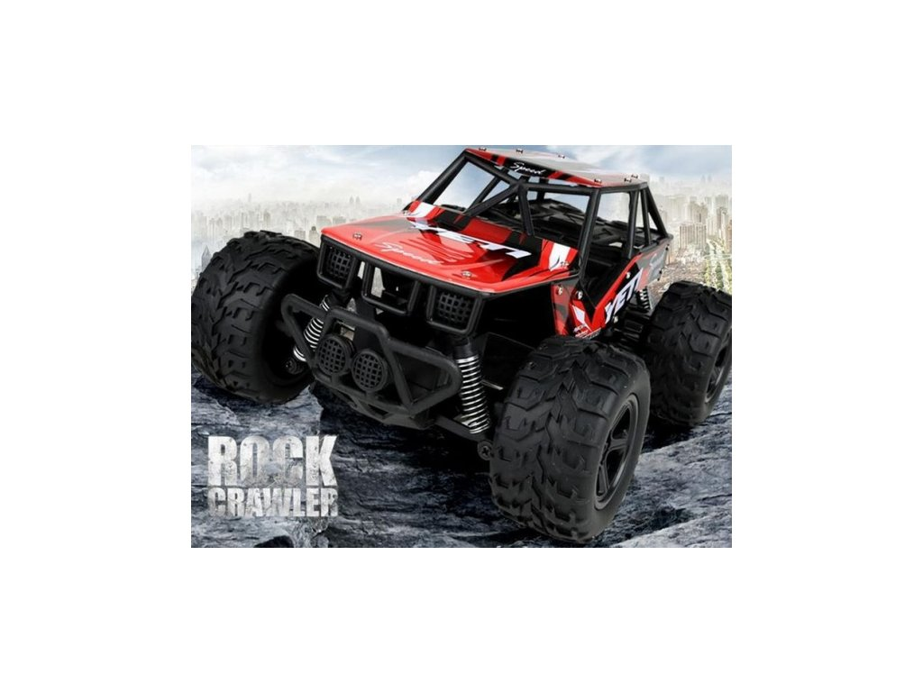 RC auto YETI 2WD - 21cm - 20km/h - červené