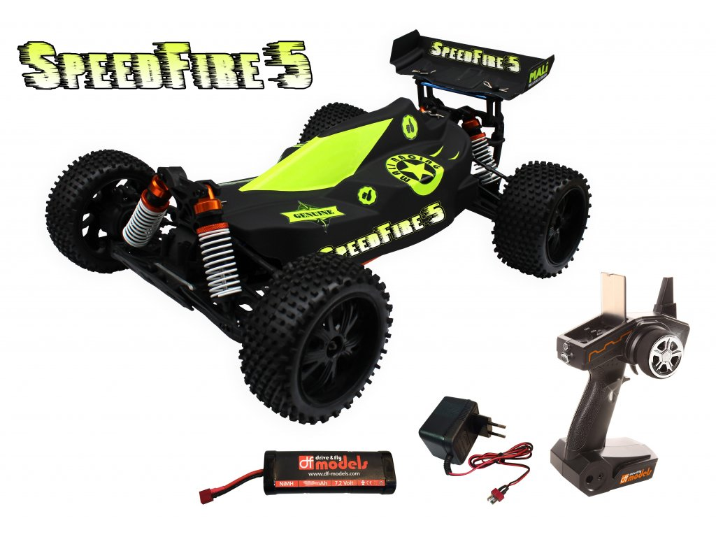 RC auto Speedfire 5 Buggy 1:10 XL Brushed WATERPROOF