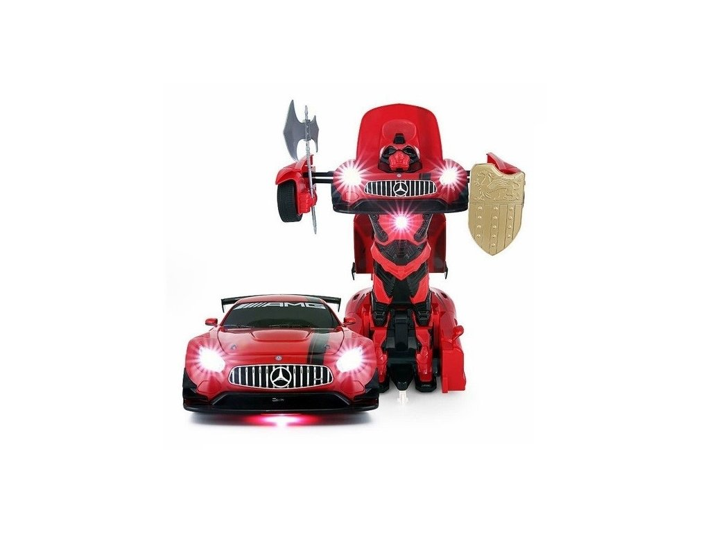 RC auto GT3 Transformer 1:14 2.4GHz RTR - červený
