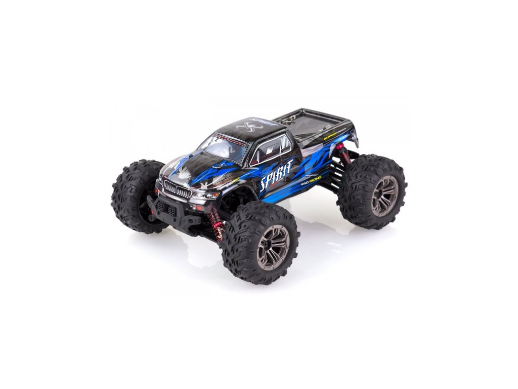 Auto na diaľkové ovládanie Spirit 4WD 1:16 2.4GHz RTR - modrá- 9135