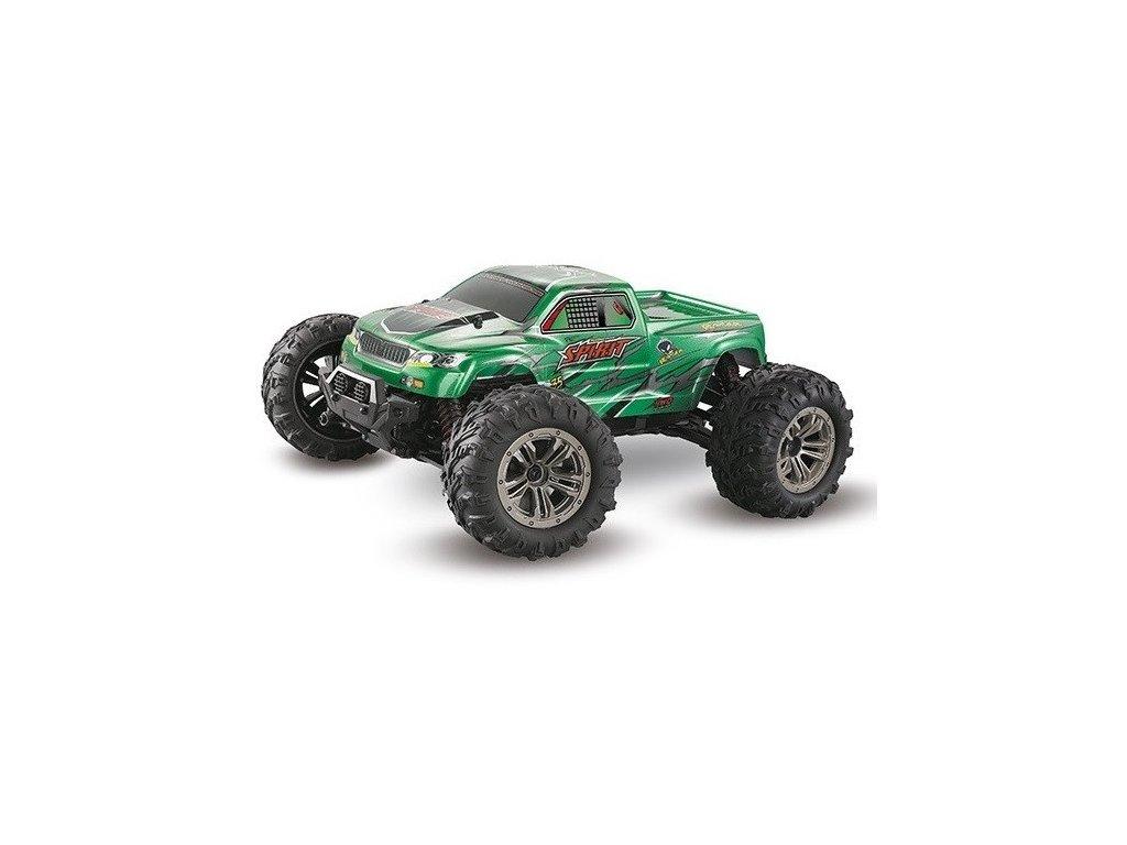 Auto na diaľkové ovládanie Spirit 4WD 1:16 2.4GHz RTR - zelený