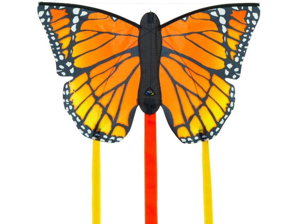 Šarkan Motýľ oranžový 52 cm