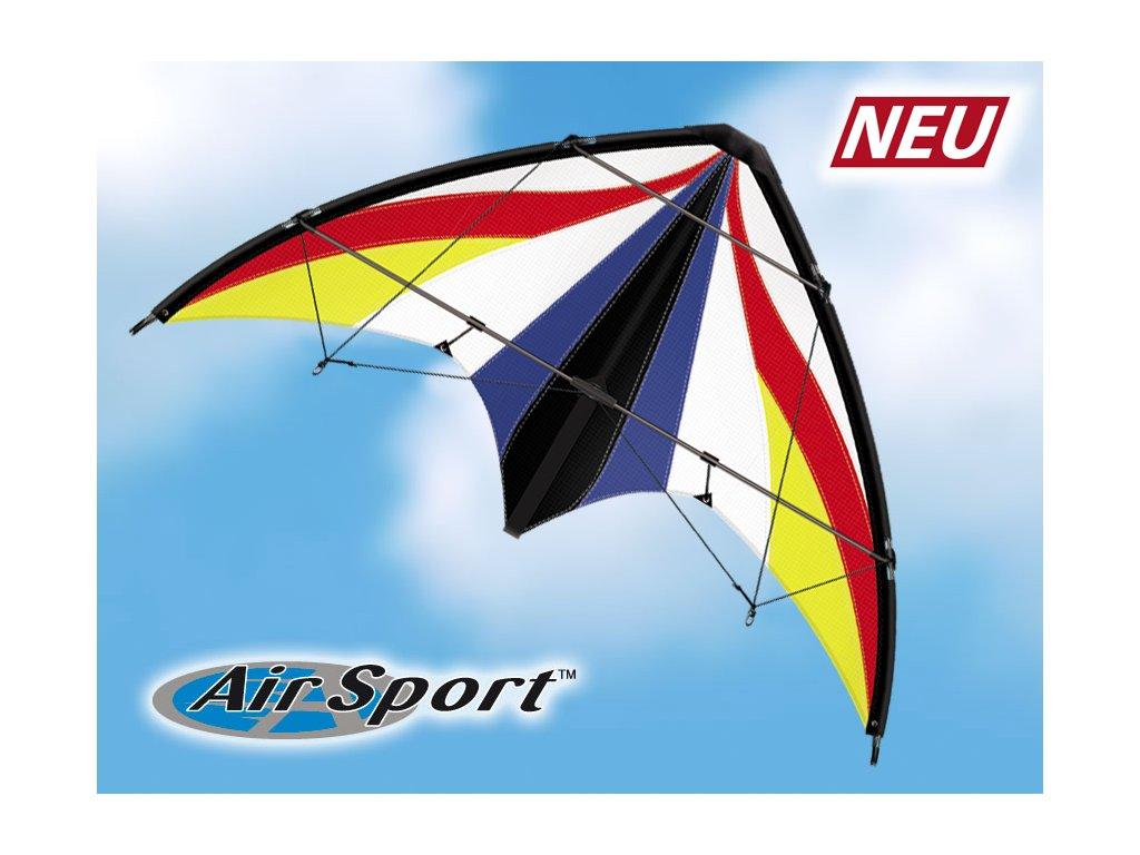 Profesionálny riaditeľný športový šarkan SPIRIT 125 GX