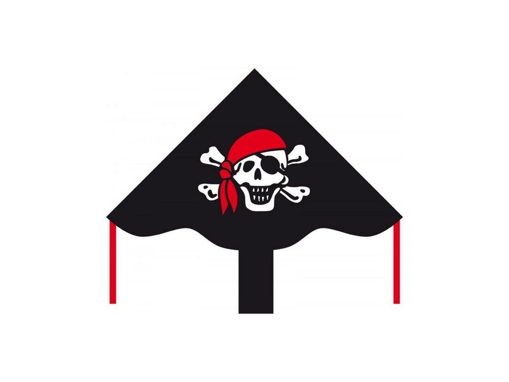 Śarkan Veselý pirát Roger 85x42 cm