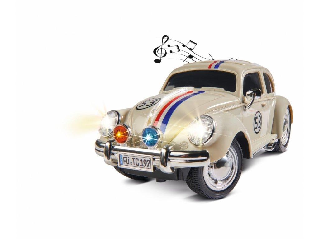 Auto na diaľkové ovládanie VW Beetle Rally 53 1 : 14, 2,4 Ghz 4CH