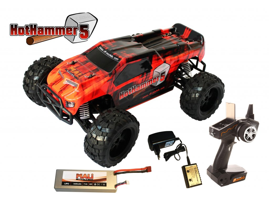 RC auto Hot Hammer 5 1:10 XL RTR