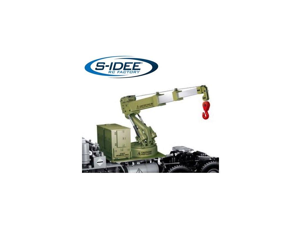 HGP803 Žeriavová nadstavba pre model S802, 1:12, 2,4 GHz, nosnosť 1,2 kg,