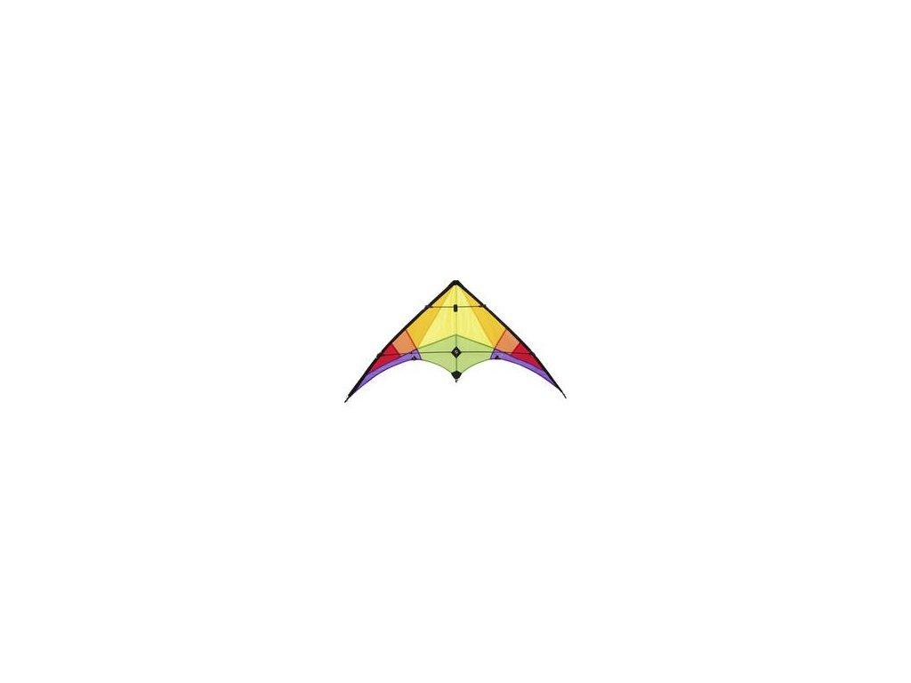 Športový šarkan Rookie Rainbow 120 x 60 cm