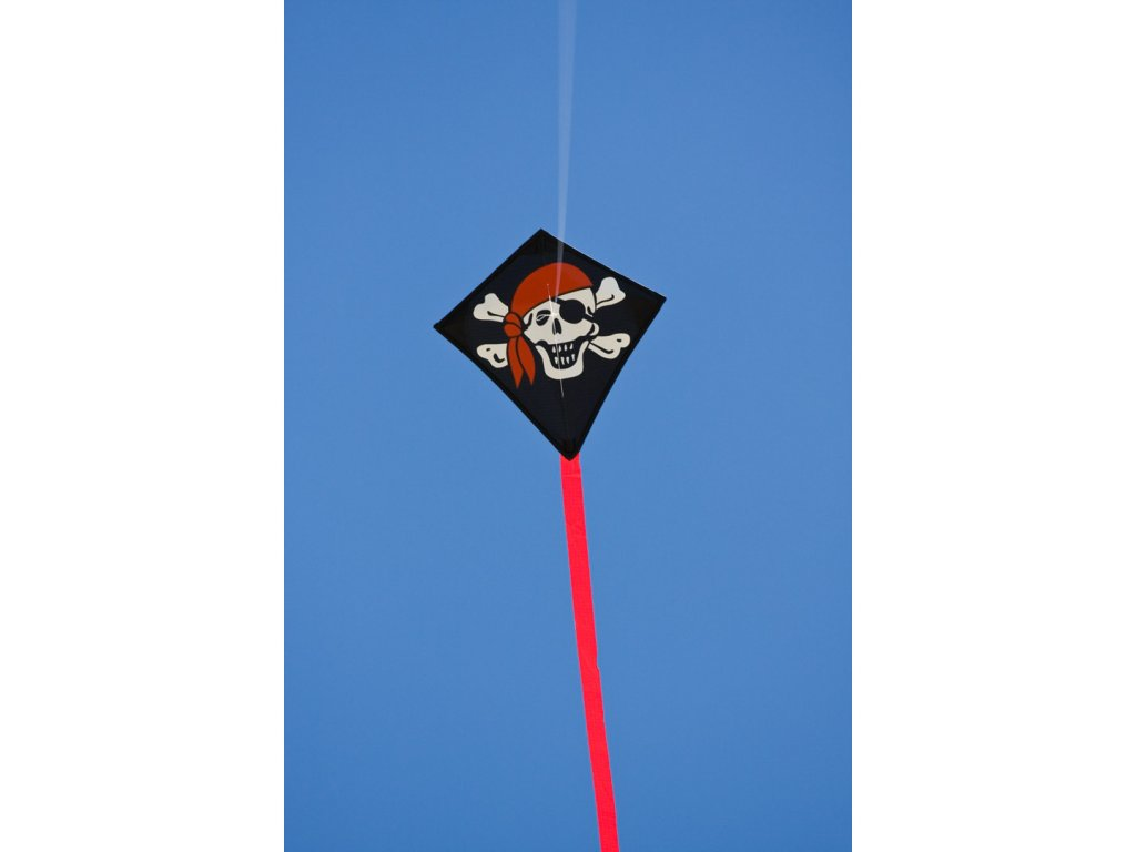 Šarkan Mini Veselý pirát Eddy Roger 30 cm