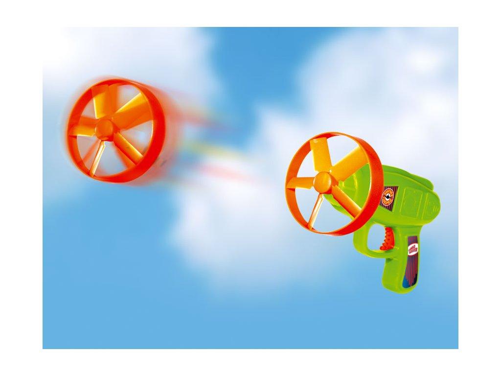 TURBOBLASTER vystreľovacie vrtuľky, 6 kusov s odpalovačom