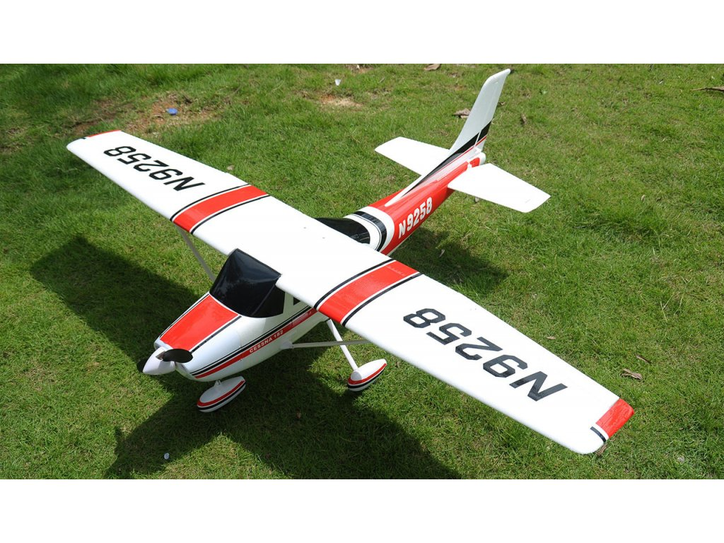 Rc lietadlo CESSNA Air Trainer 1410, PNP brushless ČERVENÁ