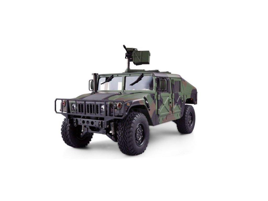 RC vojenský RC HUMMER H1 4x4, 1:10, 2.4 GHz, PROFIMODEL, RTR, zelená kamufláž