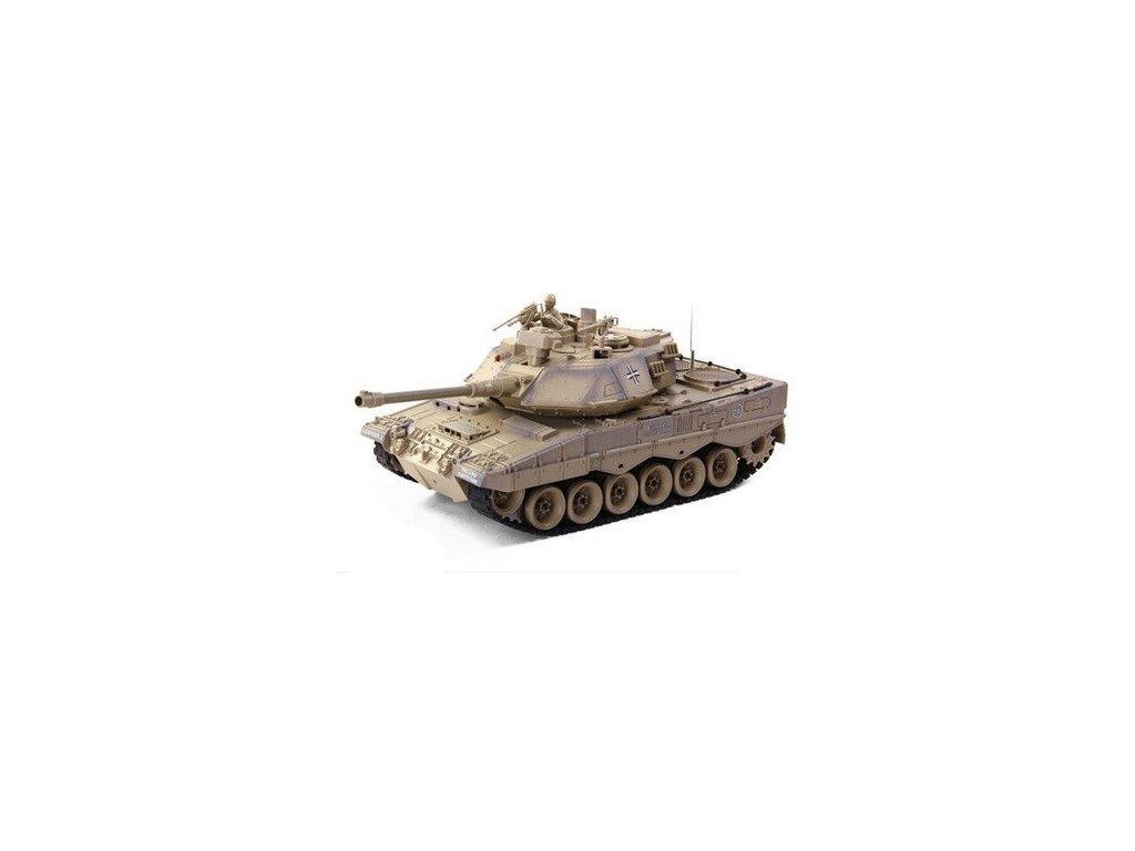RC tank German Leopard 2 1:18 RTR ASG