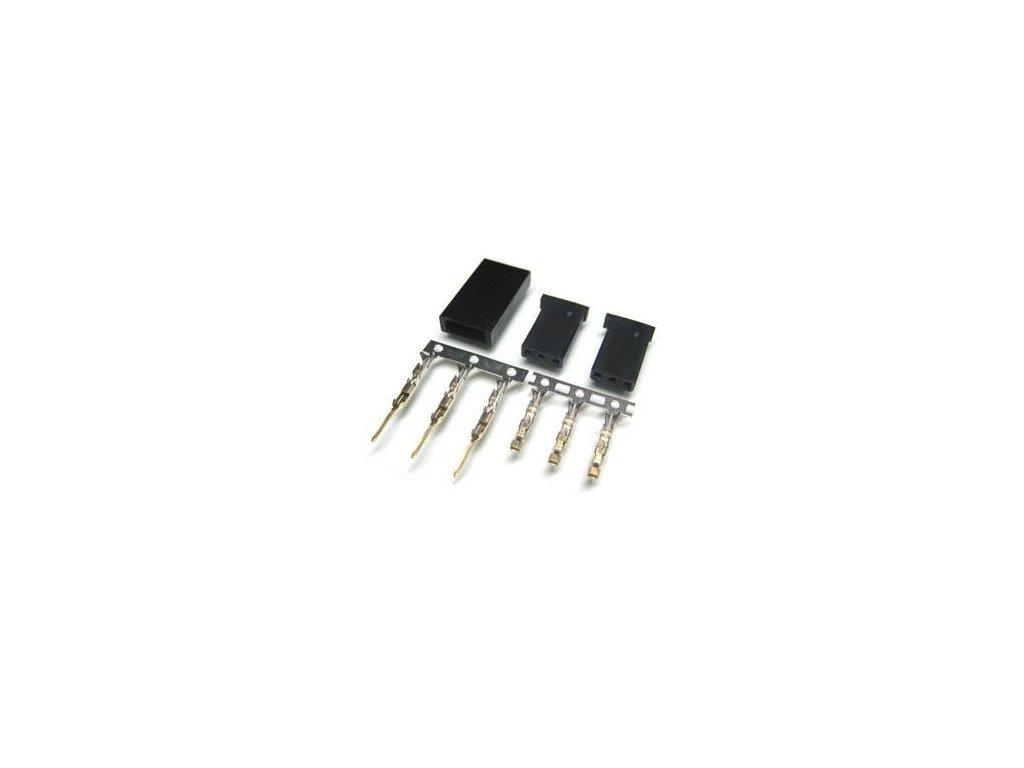 Pár JR konektorov