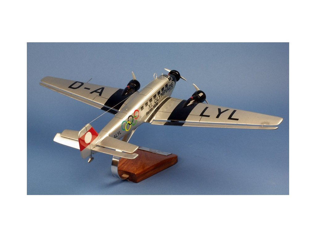 Maketový model lietadla JUNKERS JU-52 OLYMPIADE 1936 1:45