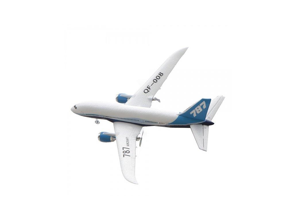 Rc lietadlo Boeing 787 pre začiatočníkov