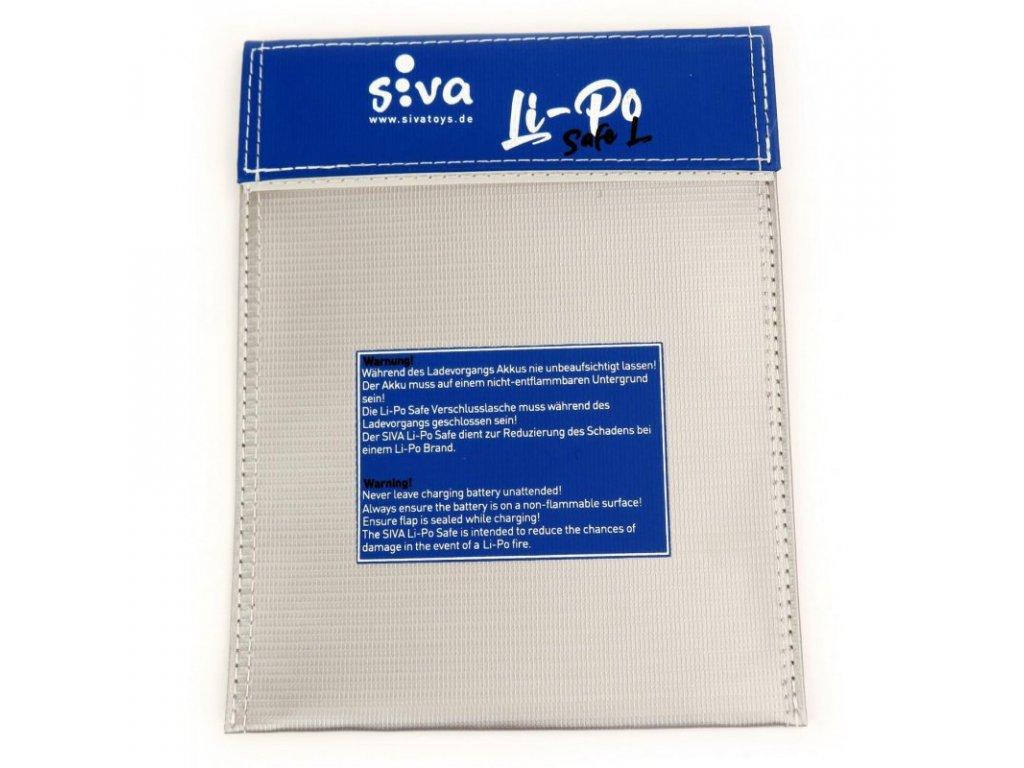 Safe Bag Siva Li-Pol vel. L, 180x230 mm